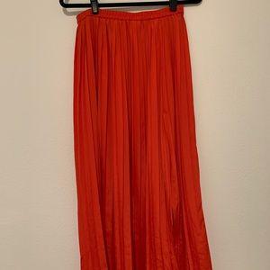 🌈Michael Kors Pleated Maxi Skirt